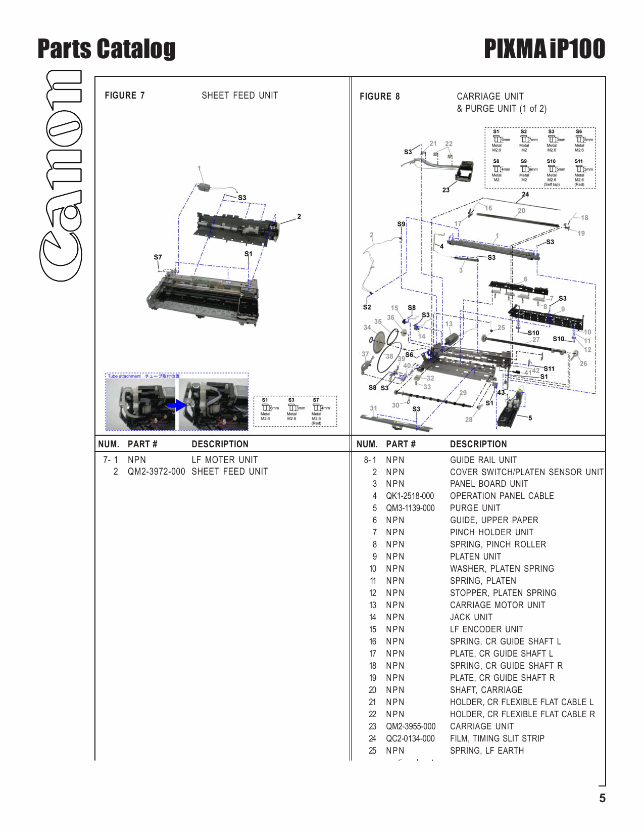 Download free pdf for canon pixma ip100 printer manual.